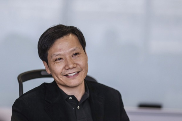 Lei Jun, founder of electronics company Xiaomi. Bloomberg