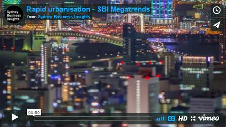 Rapid urbanisation