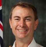 Commodore Chris Smallhorn