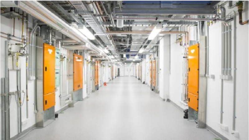 Special piping and wiring supports quantum research in the Sydney Nanoscience Hub. AINST, Author provided