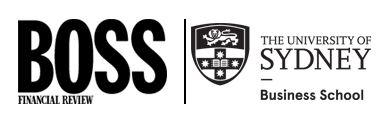University of Sydney Business School and AFR BOSS Magazine