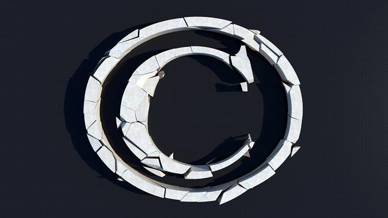 Broken copyright (image: ccPixs.com)