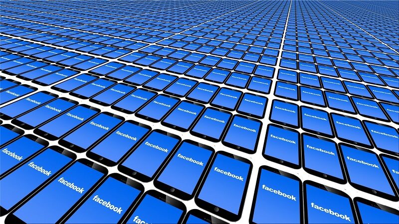 Image of numerous Facebook screens (from Flickr)