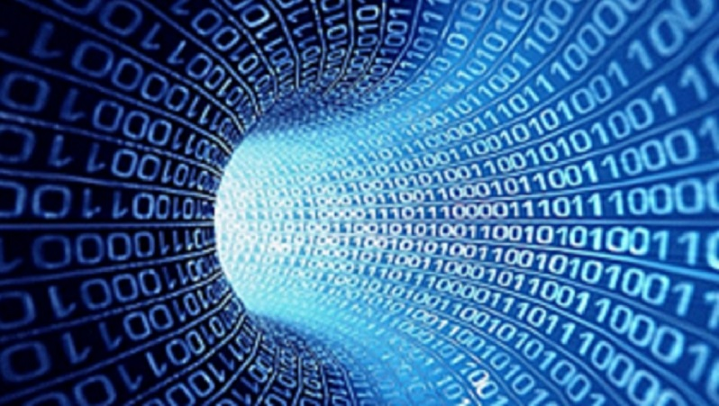 Image showing a tunnel of data. Image sourced from Flickr: https://www.flickr.com/photos/78830297@N05/14740342074