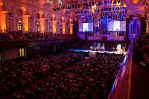 Auditorium with crowd