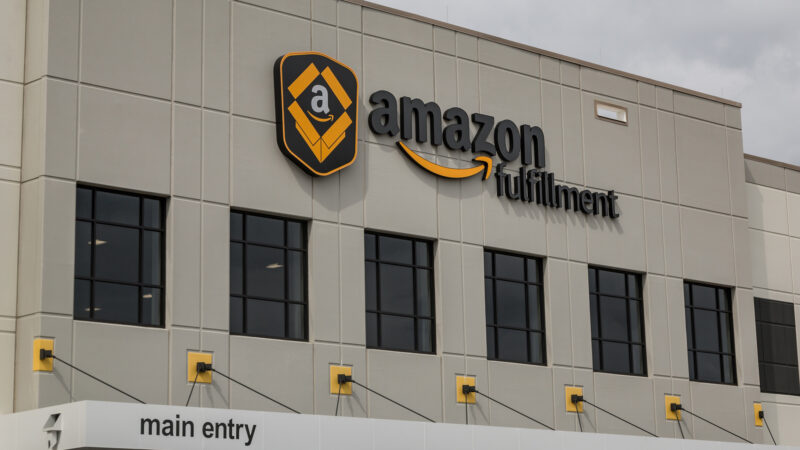 Amazon fulfilment centre. Image from Flickr