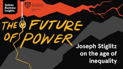 The Future of Power: Joseph Stiglitz on the age of inequality