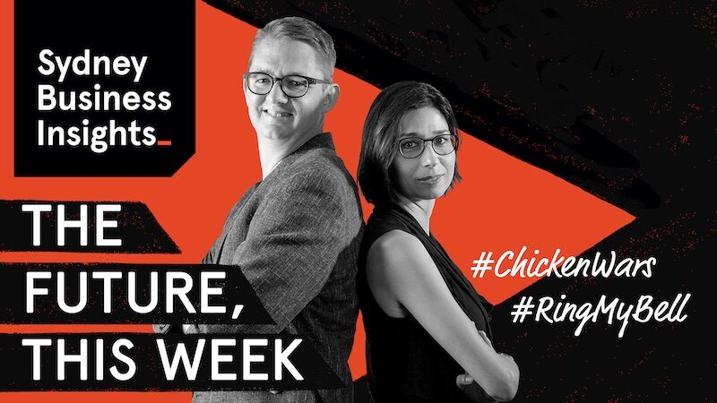 The Future, This Week: #ChickenWars, #RingMyBell