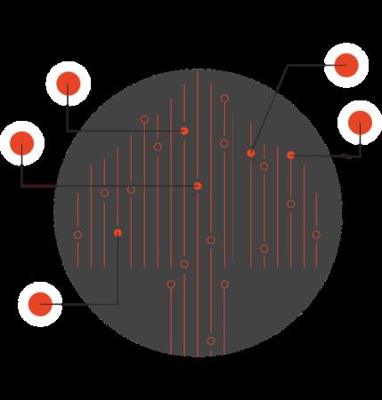 illustration of data points