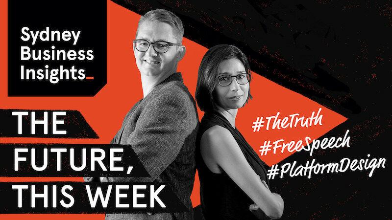 The Future, This Week: the truth, free speech, platform design